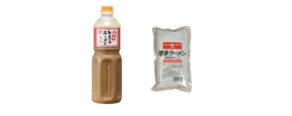 """NIBISHI"" Hakata Ramen Soup Base 1L and 500ml"