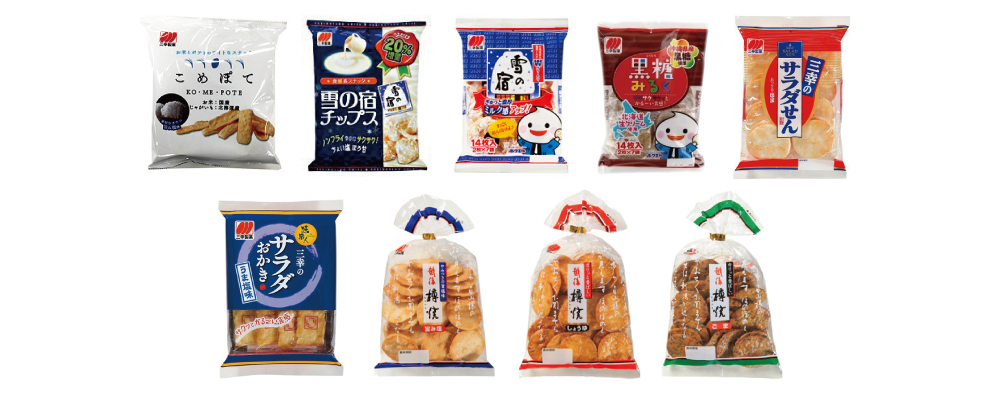 """SANKO SEIKA"" Rice Crackers"