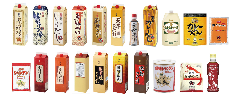 """""""SOMI FOODS"""" Sauce, Ramen Soup, Dashi, Tsuyu, Tare"""