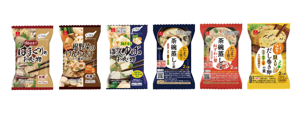 """""""ASUZAC FOODS"""" Freeze-dried products"""
