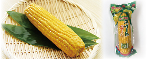 """TACHIBANA FOODS"" Corn on the Cob"
