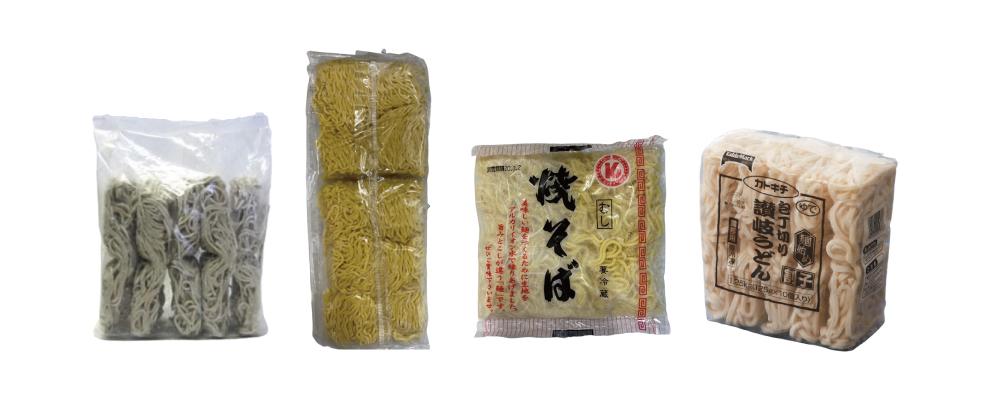 YAMAHIRO Yudetate Tokutoku Nihon Soba / Nama Ramen / Yakisoba Noodles (Steamed) / TABLEMARK Men Hajime Wariko Sanuki Udon