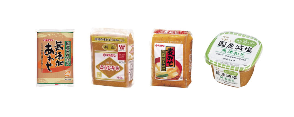"""MARUSAN-AI"" Miso Products"