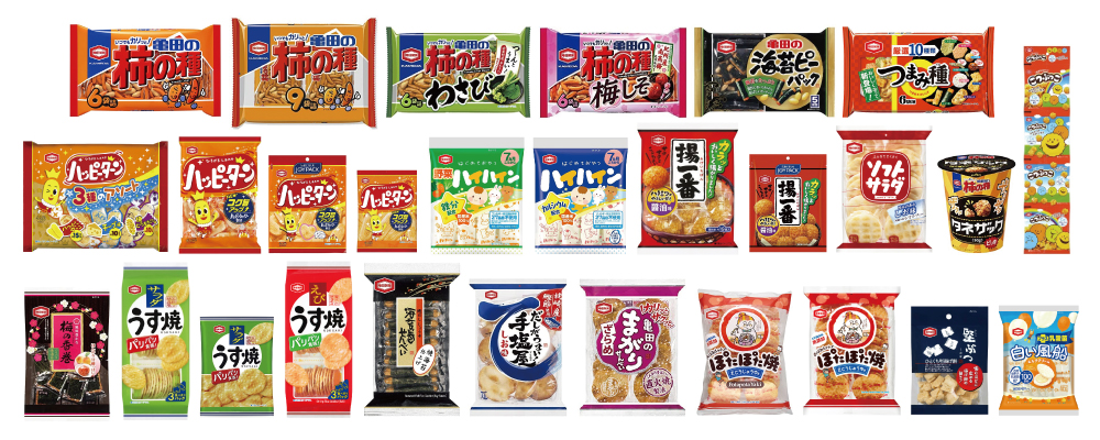 """KAMEDA SEIKA"" Rice Crackers and Snacks"