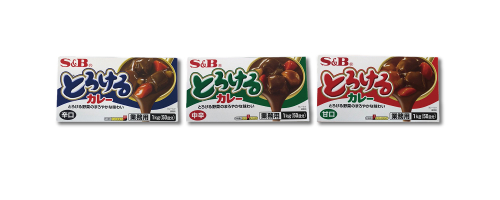 """S&B"" Torokeru Curry 1kg (for commercial use)"