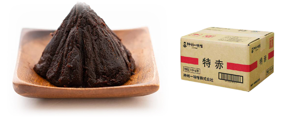 """SHINSHUICHI MISO"" Tokuaka Red Miso 20kg"