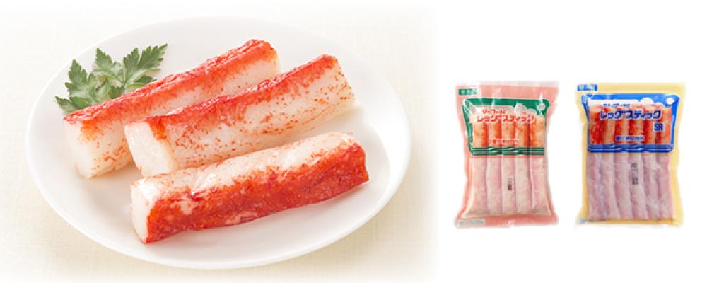 """AJIKAN"" Seafood Leg Sticks (Imitation Crab Meat)"