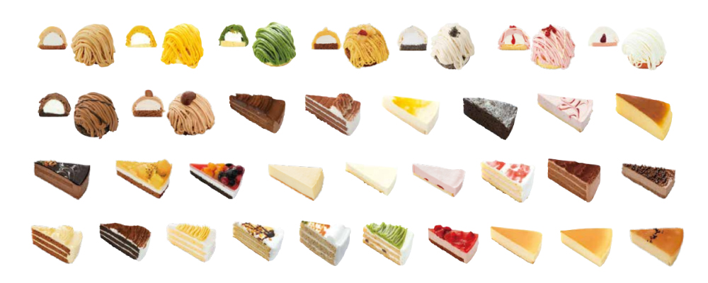 Frozen Cake Mont Blanc / No. 7 Cake / No. 6 Cake